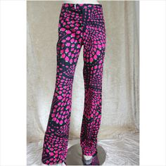Moschino Designer Strawberry Print Trousers Size 14 Listing in the Moschino,Designer,Clothes, Shoes, Accessories Category on eBid United Kingdom