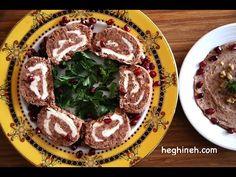 Red Bean Roulette Recipe - Armenian Cuisine by Heghineh