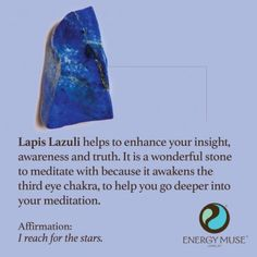 Lapis Lazuli Stone, View the Best Lapis Lazuli Stones from Energy Muse Now