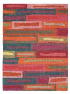 Masland Carpets & Rugs - Bricks; reminds me of a quilt