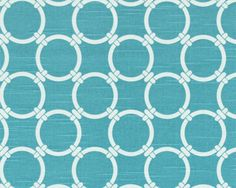 Linked Coastal Blue:Multipurpose fabric suitable for drapery, light-duty upholstery, and pillows. Teal And Grey, Blue, Premier Prints, Drapery, Coastal, Upholstery, Pillows, Unique Jewelry, Handmade Gifts