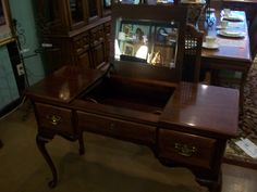 Great vanity with two drawers at Designed for Change on Davis Road - 706-922-5106