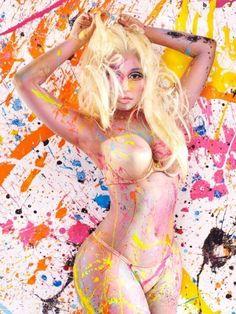 "New photo • NICKI MINAJ • booklet ""PINK FRIDAY - ROMAN RELOADED"" (3) • #MostWanted #Sexy"