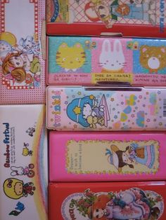 Vintage pencil cases | Flickr - Photo Sharing!