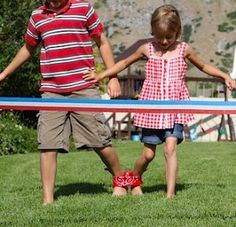 Outdoor 4th of July Games