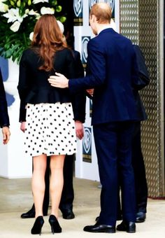 """""""William is incredibly protective of Kate and he's always putting an arm around and guiding her in the right direction"""" Chris Jackson- Royal Photographer"""