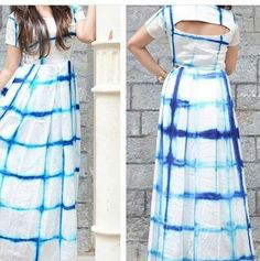 Material. Kurta gown maxi