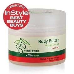 "Body Butter VENOM of OLIVELIA by MACROVITA series has received an award at the prestigious competition BEST BEAUTY BUYS 2013. Selection of the best beauty product was made by editors of ""InStyle"" magazine with the best experts in the field of beauty. During the tests, they have checked all the cosmetics available on the market and they have chosen 219 absolutely the best! The more excited for us is the title of ""Winner of InStyle Best Beauty Buys 2013""."