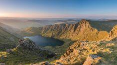 'Llyn Cau' - Cadair Idris Snowdonia by Kristofer Williams