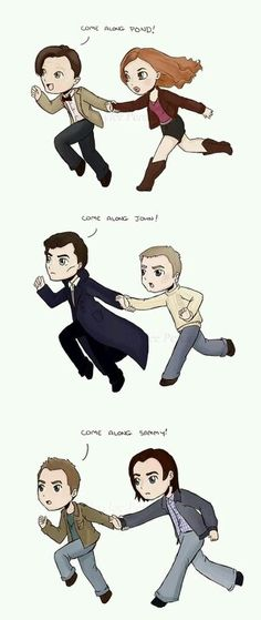 Does this qualify as SuperWhoLock, because it should...