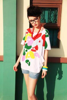 High Quality Korean Blouse Korean Blouse, Clothes For Women, Women's Clothing, Fun, Colorful, Outfits, Tops, Closet, Style