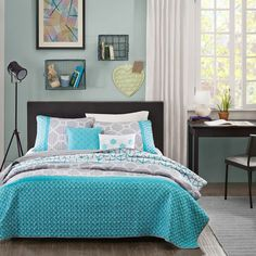 Intelligent Design Zara 5-piece Coverlet Set - Overstock Shopping - The Best Prices on ID-Intelligent Designs Teen Quilts [Promotional Pin]
