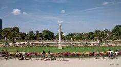 Por Aí e Aqui: Paris (Jardim de Luxemburgo)