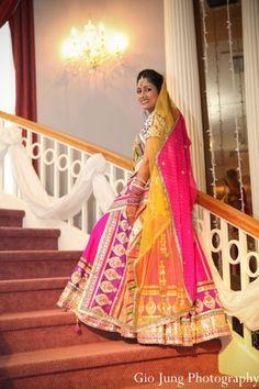 indian wedding bridal portrait traditional lengha http://maharaniweddings.com/gallery/photo/7494