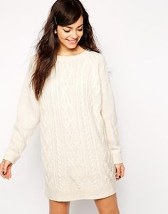 Knitted dresses are perfect for this season. They're cosy and ultra comfy. Team with black tights and boots when you're feeling cold. Find it here: http://asos.do/uK3CL2