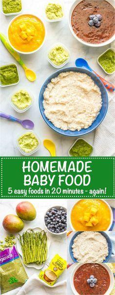 Homemade baby food b