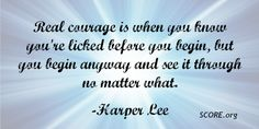 Harper Lee, Fails, Inspirational Quotes, Success, Business, Life Coach Quotes, Inspiring Quotes, Make Mistakes, Store