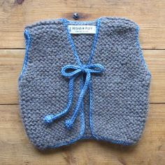Misha and Puff — Captain's Vest Misha And Puff, Little People, Baby Knitting, Baby Dress, Knit Crochet, Sewing, Kids, Children, Pattern