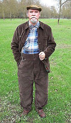 costume de charpentier en velours LE BEAUFORT