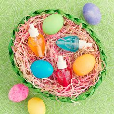 Make their #EasterBasket eggs-tra special!