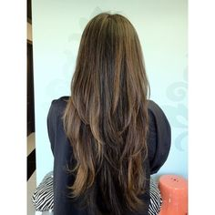 Pinterest / Search results for long layered hair