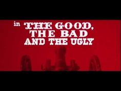 https://www.youtube.com/watch?v=kccafOf4O6Q The Good the Bad and the Ugly (1966) title sequence - YouTube / TITLE DESIGNER- Iginio Lardani / STYLES- 1960s, experimental, graphic, hand drawn, illustration, MOVIEmain title, mixed-media