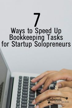 business finance Small business owners need to do all their tasks! Here are 7 ways to speed up bookkeeping tasks for small business owners. Online Bookkeeping, Small Business Bookkeeping, Bookkeeping And Accounting, Small Business Accounting, Bookkeeping Services, Business Money, Small Business Marketing, Business Tips, Etsy Business