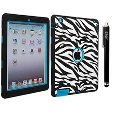 iPad 4 Case, iPad 3 Case, iPad 2 Case - E LV iPad 4 3 2 Case Cover - Shock-Absorption / High Impact Resistant Hybrid Dual Layer Armor Defender Full Body Protective Case Cover with 1 Stylus and 1 E LV Microfiber Digital Cleaner E LV http://www.amazon.com/dp/B00NYXLMYS/ref=cm_sw_r_pi_dp_.XrAub0P0P93C 13