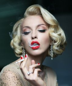 Doubt the Marilyn style will ever go out of fashion. #retrohair #vintagehair #marilynmonroe