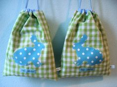 Cute Easter bunny bags by freuleinmimi