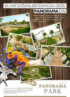Kır düğünleri panorama park'ta yaşanır.