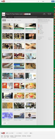 Our YouTube channel - see all of our videos there!