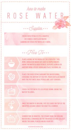 How to Make Rose Water                                                                                                                                                                                 More