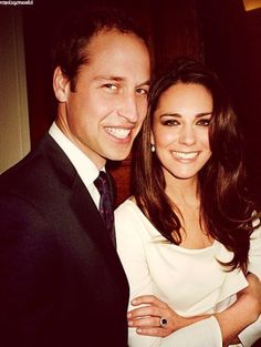 Kate Middleton and Prince William  perfection