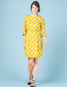 Fall with tights.  Dolly Dress WH989 Summer Dresses at Boden