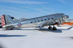 Commemorative Air Force DC-3 at Basler Aviation Oshkosh