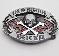 Apparel Sewing & Fabric Retail Good Plating Skull Belt Buckle Cowboy Cowgirl Cool Skeleton Skull Head Metal Buckles Apparel Accessories Suit 4cm Pu Belt 2019 Official