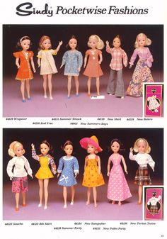 PIC051975 Vintage Barbie Clothes, Vintage Dolls, Doll Clothes, 1970s Dolls, Sindy Doll, Barbie Friends, Barbie Dress, Old Toys, Doll Accessories