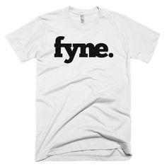 Fyne Logo Classic Tee