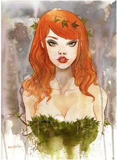 Poison Ivy by -Brett Weldele.
