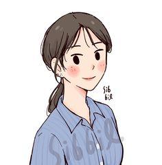 Cartoon Art Styles, Cute Art Styles, Cartoon Girl Drawing, Cartoon Drawings, Kawaii Drawings, Cute Drawings, Illustration Art Drawing, Character Illustration, Character Art