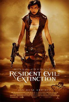 Resident Evil Extinction.