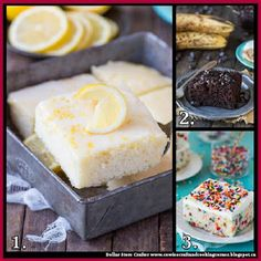 Dollar Store Crafter: 3 Delicious Sheet Cake Recipes
