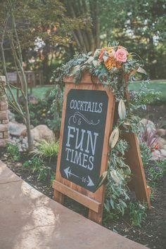 Peach, Cream and Gold Autumnal Backyard Wedding – Kristin and Bryan