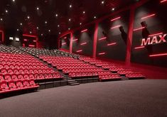 ALL SET FOR OPENING OF VOX CINEMA IN JEDDAH Movie Theater Decor, Home Theater Room Design, Cinema Theatre, Home Theater Rooms, Really Cool Photos, Deco Restaurant, Jeddah, Future City, Cafe Design