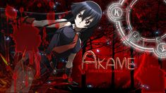 """""""Akame, also known as Akame of the Demon Sword Murasame, is one of the members of the assassination group, Night Raid and one of the main protagonists, along with Tatsumi. She is the first member to attack Tatsumi, and comes very close to killing him. Akame is usually in charge of cooking the base's meals."""""""
