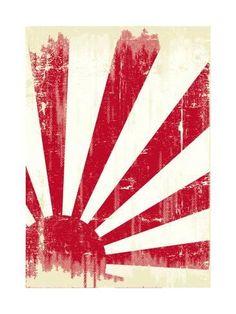 Grunge Japan Flag. An Old Japan Grunge Flag For You Affiches par TINTIN75 sur AllPosters.fr
