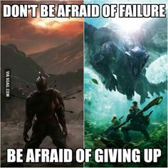 What Dark Souls and Monster Hunter had taught me  <<< never played them, but nice