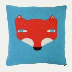 DONNA WILSON Fox Cushion £69.95 - Living - Cushions ILLUSTRATED LIVING