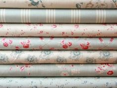 Cabbages and Roses - The Athill Range - Designer Cotton Prints - Fabric